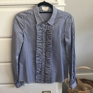 🚨LAST CHANCE🚨 {kate spade} striped blouse